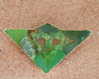 It's Not Easy Being a Green Brooch!