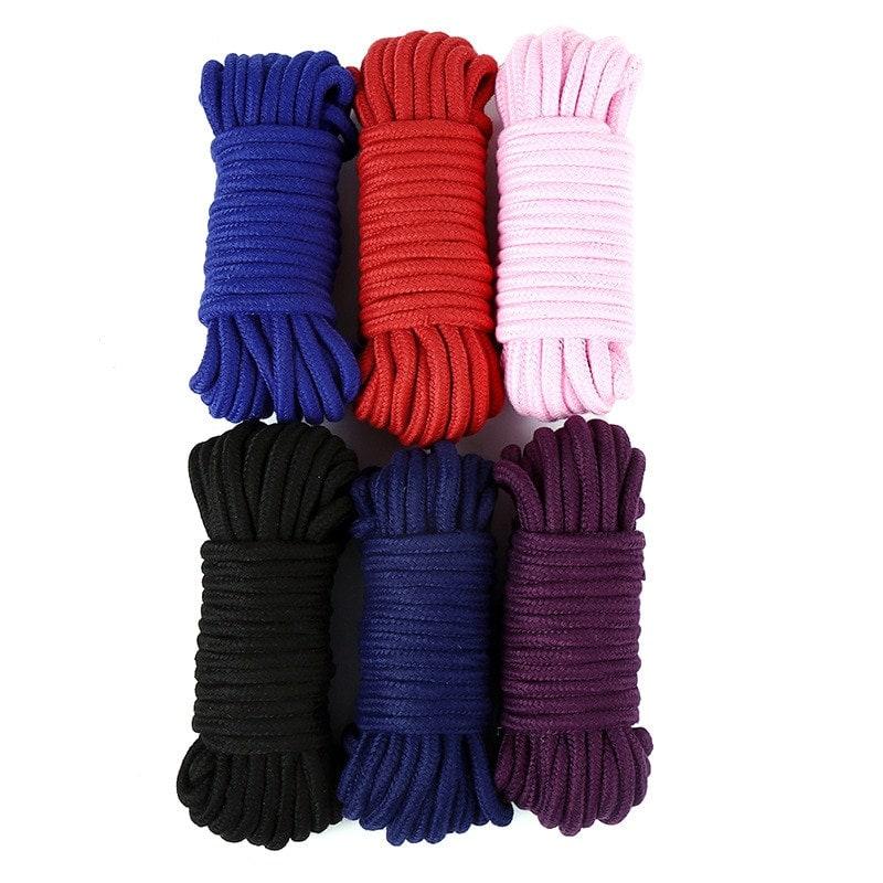 5m/10m Bondage Rope Thick Cotton Restraint