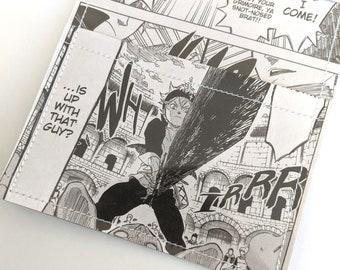 Ultraman Recycle Comic Book Manga Pages Vinyl Wallet