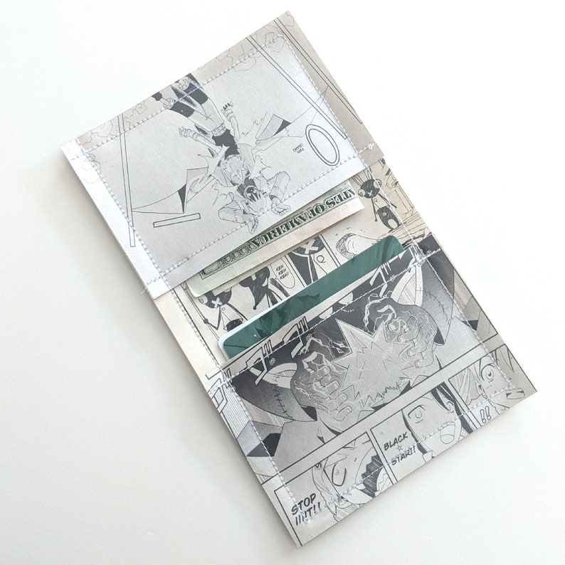 Vampire Princess Miyu Vanpaia Miyu Recycle Comic Book Manga Pages Vinyl Wallet