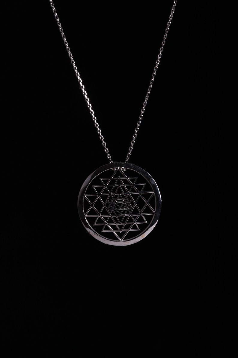 Symbol Necklace in 925 Sterling Silver