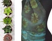 Long Scarf-Handmade Silk Shawl-Designer Silk Scarf-Gift for Women-Hair Scarf for Women