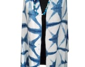 Butterfly Scarf-Handdyed Cotton Scarves-Women's Bohemian Textile