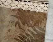 Canvas Beach Bag-Shopping Bag-Canvas Bag-Long handled Market Bag-Canvas Grocery Bag-Floral Canvas Bag