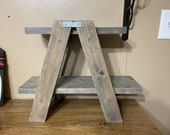 2-Shelf Tiered Ladder Stand Ladder-Style Tiered Tray Farmhouse Decor Display Ladder Plant Stand Cupcake Stand