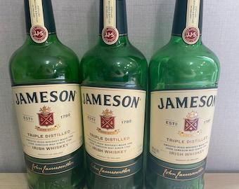 Empty Jameson 1 Liter Bottle