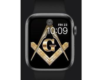 Masonic Apple Watch Face - MASW001