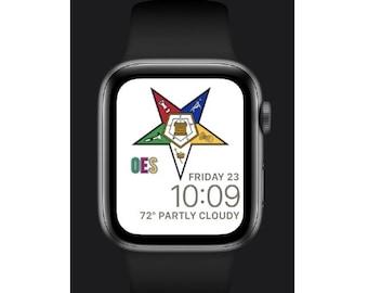 Eastern Star Apple Watch Face - OESW001