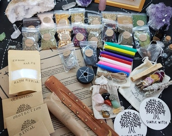 witch start set / witch box / spell box