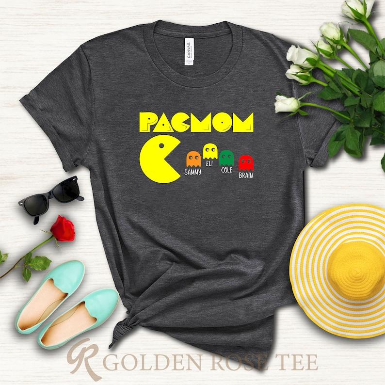 Women's Funny Pac Mom T-shirt Gift