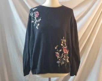 S Vintage 80s 90s Womens Sweater Maurada