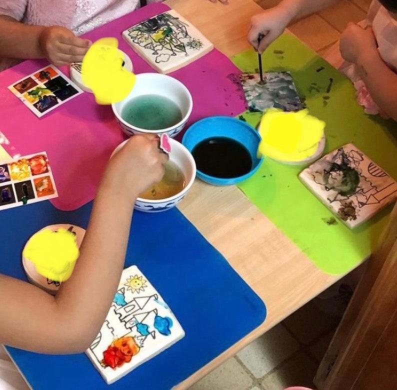 Silkscreen PYO Cookie Stencil princess castle