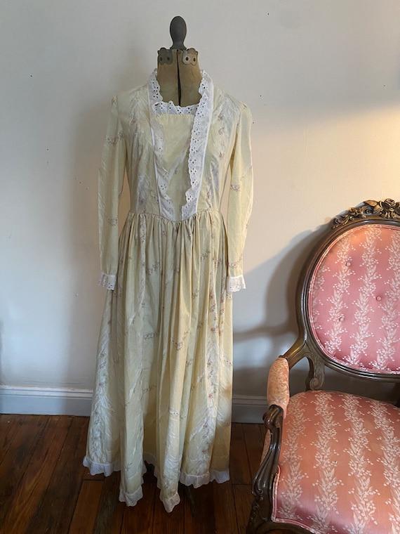 Gunne Sax inspired 70's prairie dress - image 6