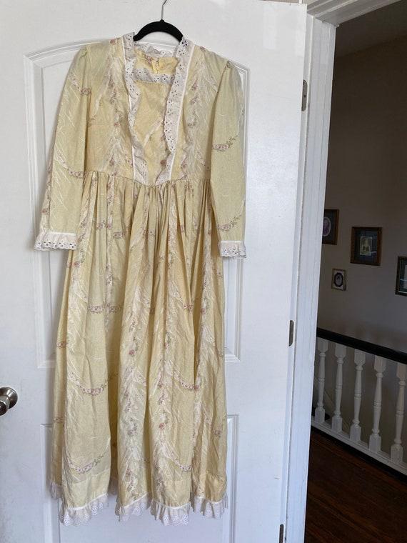 Gunne Sax inspired 70's prairie dress - image 1