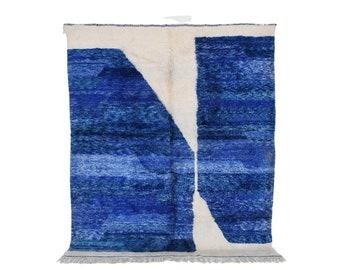Moroccan rug - Azilal rug - handmade wool rug Boujaad Rug 9,78 Ft X 8,53 Ft Free shipping worldwide