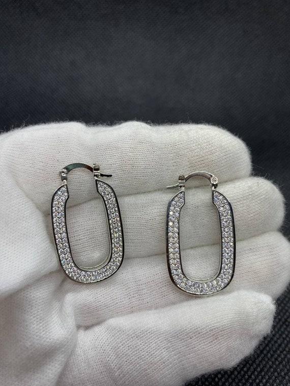 Vintage Celine Logo Earrings - image 5