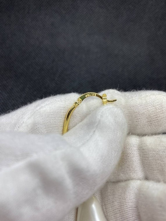Vintage Celine Gold Earrings - image 4