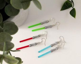 Earrings | Lightsaber earring | Star wars