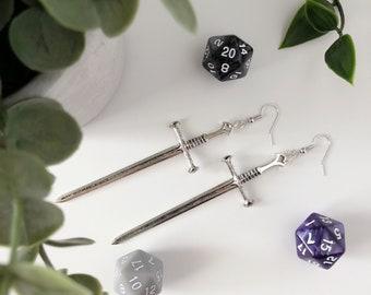 Earrings | Sword Earrings | Elven long sword earring