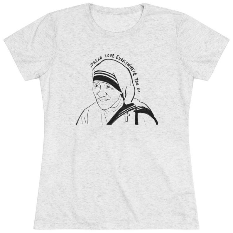 Women/'s St Mother Teresa Premium T-Shirt
