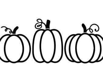 Pumpkin svg, Digital Download SVG, Halloween SVG, Fall Svg, Autumn Svg, Pumpkin Clipart, Thanksgiving SVG, Cricut, Silhouette Cut Files