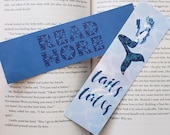 Blue Summer Bookmarks Mermaid Scales Tales and Tales Summer Reading Library Read More Mosaic Zentangle Book Mark for Reading Summery Cute