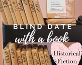 Historical Fiction Blind Date With a Book Mystery Book Gift for Reader