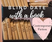 Contemporary Fiction Blind Date With a Book Mystery Book Gift for Reader