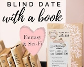 Fantasy & Sci-fi Blind Date With Book Mystery Book Gift for Reader Bookish Surprise Reader Friend Gift Bibliophile Book Date Science Fiction