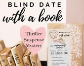 Thriller, Mystery & Suspense Blind Date With a Book Mystery Book Gift for Reader Bookish Friend Gift for Reader Bibliophile Bookish Surprise