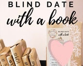 Blind Date With a Book Mystery Book Gift for Reader