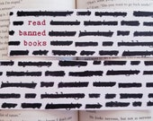 Read Banned Books Bookmark Anti Censorship Librarian Gift for Readers Bookstagram Reader Friend Gift for Bookworms
