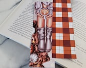 Cozy Fall Vibes Bookmark Stars Autumn Halloween Bookmark Books and Coffee Bookmark Gift for Reader