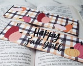 Happy Fall Yall Autumn Bookmark for Readers