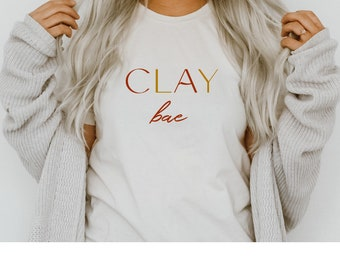 Clay Graphic Tee Clay Apparel Polymer Clay t-shirt Clay Mafia t-shirt More Colors Available