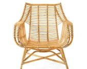 Venice Rattan Chair Natural