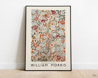William Morris Poster, Exhibition Poster, William Morris Print, Art Gallery Poster, Museum Poster, Vintage Poster, Wall Decor, Home Decor