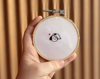 """Baby Snoopy 3"""" Embroidery Hoop"""