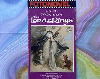 J R R Tolkien's The Lord of the Rings Fotonovel. Vintage film tie-in paperback 1979.