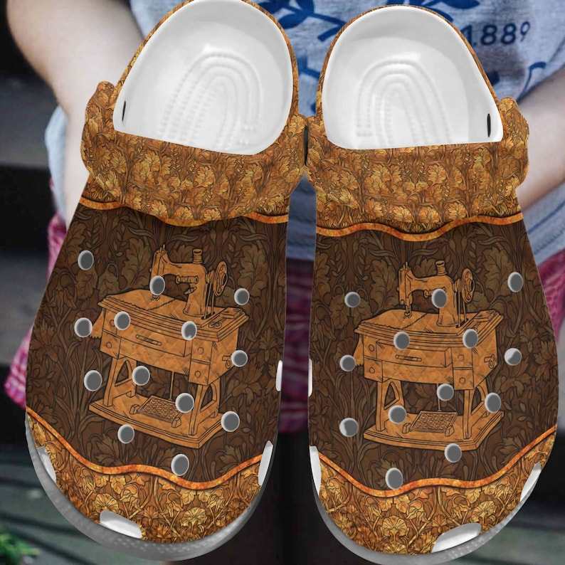 Sewing Clog Sewing Machine comfortable Croc Gift water shoes Clog comfortable for mens and womens classic clog