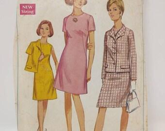 CUT Simplicity 7450 Sewing Pattern Vintage
