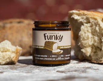 Candle Hot bread - Funky