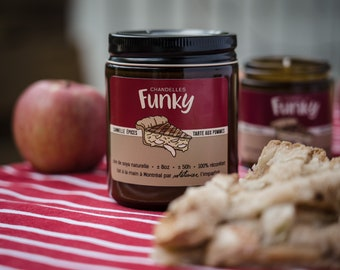 Candle Apple Pie - Funky