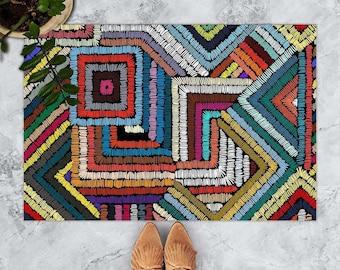 Colorful Doormat, Welcome Doormat, Friends Doormat, Welcome Mat Porch, Best Friends gifts, Funny Doormat, Friends Home Décor Doormat