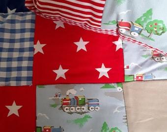 Handmade children's quilt.