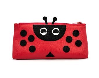 Leather-like ladybug kit