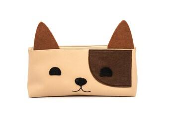 Leather faux dog kit