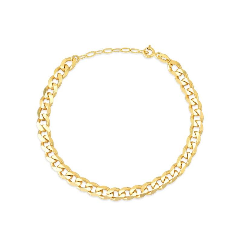 Auger And Ring Gold Plated 925K Silver Bracelet I Bracelet For Woman I Gift For Woman I Gift For Mom I Gift For Girls