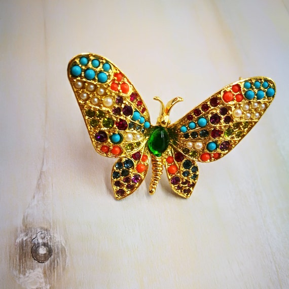 Small Butterfly Pin Retro Butterfly Pin Old Butterfly Pin Butterfly Brooch Pin Wood Butterfly Wood Butterfly Pin Butterfly Brooch