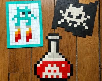 Space Invader Mosaic Kit - Level 2 - DYI Pixel Art